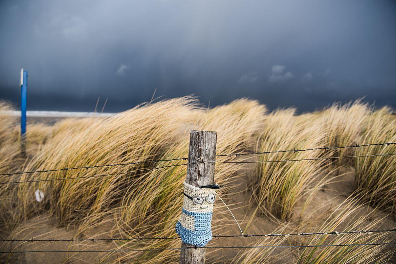 Noordwesterstorm in Scheveningen