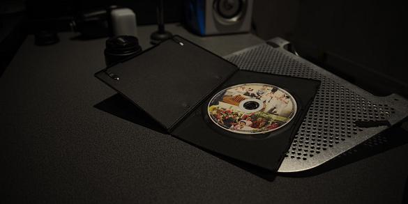 Eerste DVD klaar