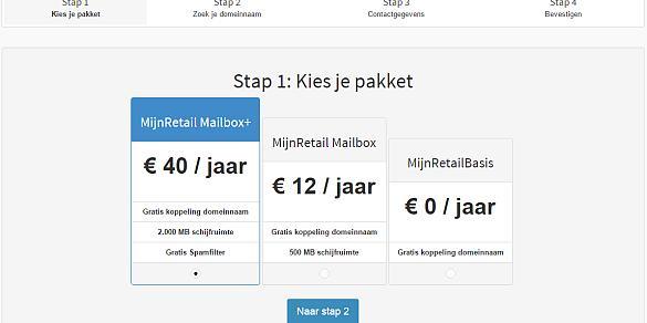 Automatisering Domeinregistratie MijnRetail