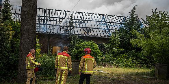 Uitslaande brand Handelsonderneming Kuijpers